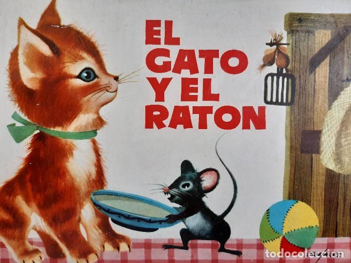 EL GATO Y EL RATON ILUSTRACION CHEZ MART MOLINO 1963 (Tebeos y Comics - Molino)