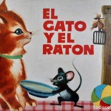 Tebeos: EL GATO Y EL RATON ILUSTRACION CHEZ MART MOLINO 1963. Lote 260592530