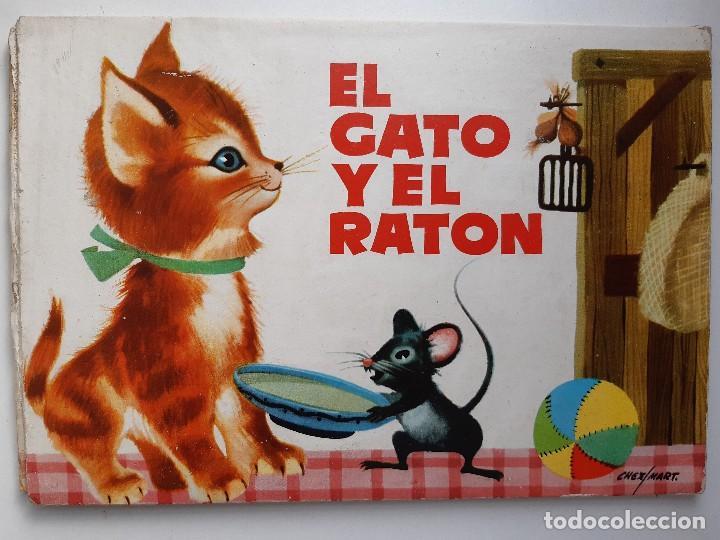 Tebeos: EL GATO Y EL RATON Ilustracion CHEZ MART MOLINO 1963 - Foto 2 - 260592530