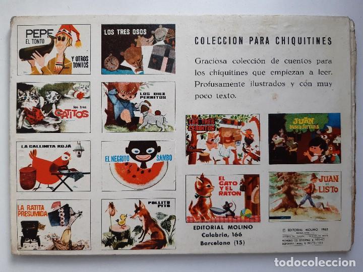 Tebeos: EL GATO Y EL RATON Ilustracion CHEZ MART MOLINO 1963 - Foto 3 - 260592530