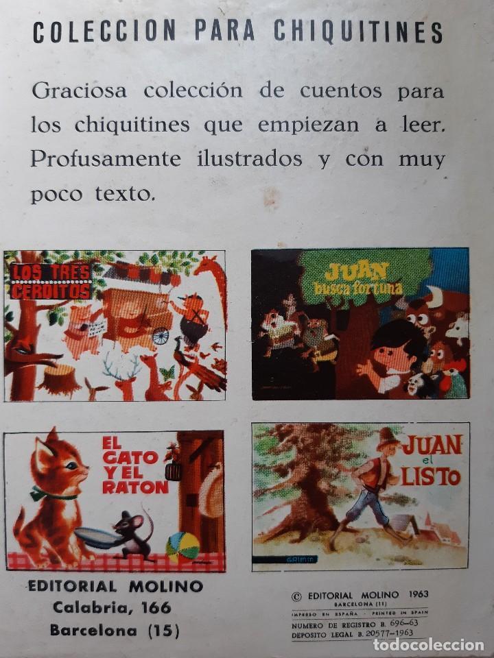 Tebeos: EL GATO Y EL RATON Ilustracion CHEZ MART MOLINO 1963 - Foto 5 - 260592530