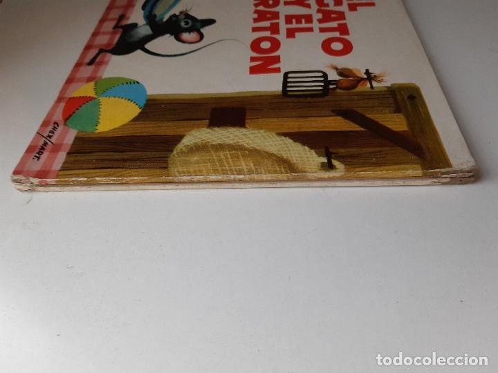 Tebeos: EL GATO Y EL RATON Ilustracion CHEZ MART MOLINO 1963 - Foto 8 - 260592530