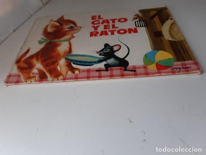 Tebeos: EL GATO Y EL RATON Ilustracion CHEZ MART MOLINO 1963 - Foto 9 - 260592530