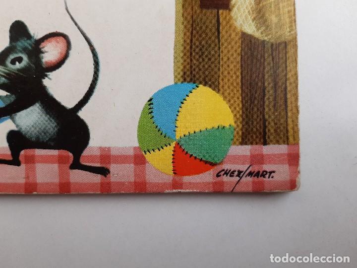 Tebeos: EL GATO Y EL RATON Ilustracion CHEZ MART MOLINO 1963 - Foto 10 - 260592530