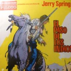Livros de Banda Desenhada: COMIC JERRY SPRING EL PASO DE LOS INDIOS COL. PILOTO DE MOLINO. Lote 263668160