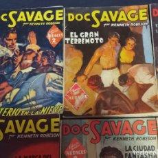 Livros de Banda Desenhada: LOTE 28 CUADERNOS DOC SAVAGE .EDICIONES MOLINO 1939 . VER FOTOS. Lote 263718520