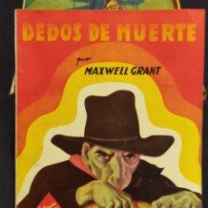 Livros de Banda Desenhada: COLECCION HOMBRES AUDACES,16 NUMEROS,MAXWELL GRANT 1945. Lote 263726745