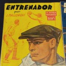 Livros de Banda Desenhada: LA NOVELA DEPORTIVA POR JOSÉ MALLORQUÍ FIGUEROLA - (12 UNIDADES) DEL Nº 1 AL Nº 12. 1943. VER FOTOS. Lote 263720430