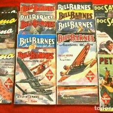 Livros de Banda Desenhada: LOTE 17 NUMEROS DOC SAVAGE - YUMA - BILL BARNES - PETE RICE (1939-47) COL. HOMBRES AUDACES - MOLINO. Lote 265545324
