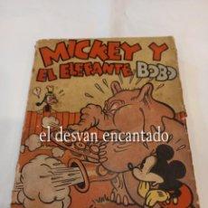 Tebeos: MICKEY Y EL ELEFANTE BOBO. EDITORIAL MOLINO 1936. WALT DISNEY. Lote 265944773