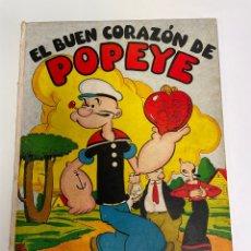 Tebeos: (M) EL BUEN CORAZON DE POPEYE ÀLBUM N.1 SEGAR EDT MOLINO AÑOS 30 - WALT DISNEY. Lote 267797349