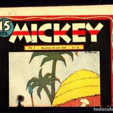 Livros de Banda Desenhada: COMIC COLECCION MICKEY Nº 73. Lote 275103928