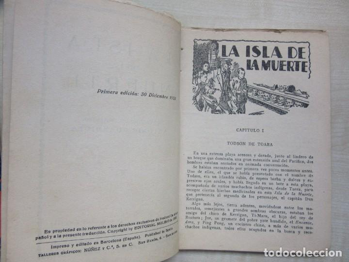 Tebeos: La Isla de la muerte Serie Popular Molino 1933 - Foto 2 - 275570123