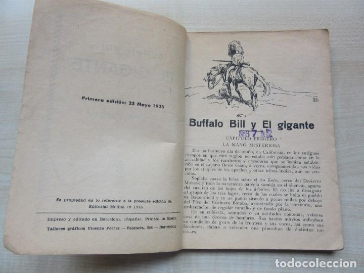 Tebeos: Buffalo Bill y el Gigante Editorial Molino 1935 - Foto 2 - 275912048