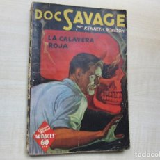 Tebeos: DOC SAVAGE LA CALAVERA ROJA POR KENNETH ROBESON EDITORIAL MOLINO 1941. Lote 275912893