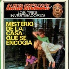 Livros de Banda Desenhada: LIBRO ALFRED HITCHCOCK Y LOS TRES INVESTIGADORES: MISTERIO DE LA CASA QUE SE ENCOGÍA 1974. Lote 284184388