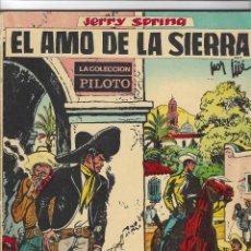Tebeos: ED. MOLINO -- SERIE JERRY SPRING -- Nº 3 EL AMO DE LA SIERRA. Lote 287748063
