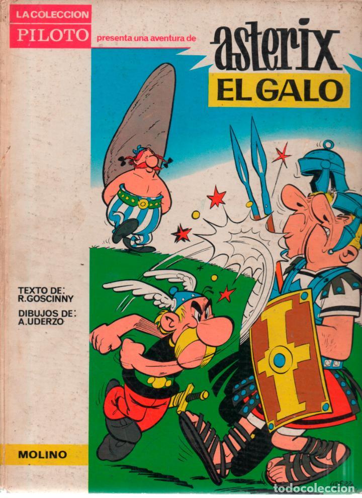 COLECCION PILOTO. ASTERIX EL GALO. MOLINO. 1965 (Tebeos y Comics - Molino)