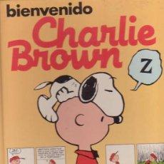 Tebeos: BIENVENIDO CHARLIE BROWN / DIBUJOS : CHARLES M. SCHULZ. Lote 13122040