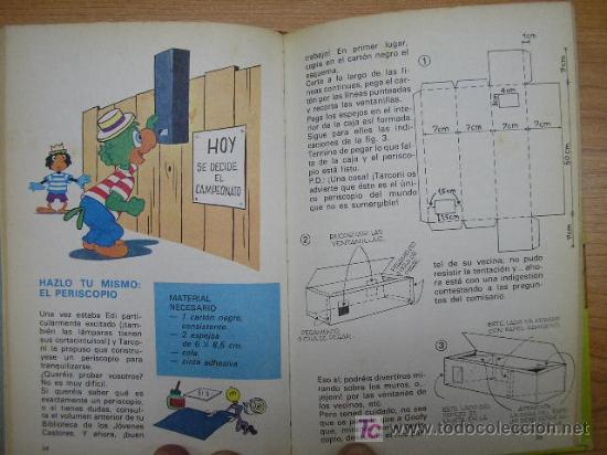 Tebeos: BIBLIOTECA JOVENES CASTORES, Nº 8, WALT DISNEY, ED. MONTENA, AÑO 1984 - Foto 2 - 4766697