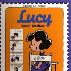 Tebeos: LUCY, SOY ÚNICA - CHARLES SCHULZ - MONTENA - 1987. Lote 21006112