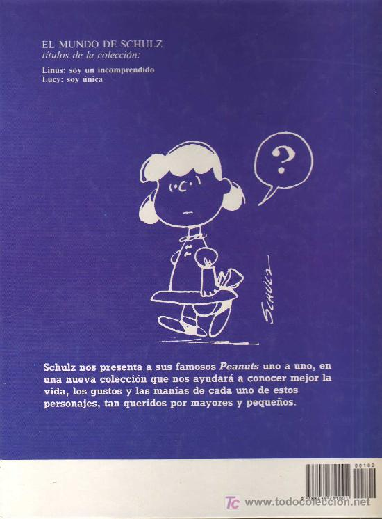 Tebeos: LUCY, SOY ÚNICA - CHARLES SCHULZ - MONTENA - 1987 - Foto 2 - 21006112