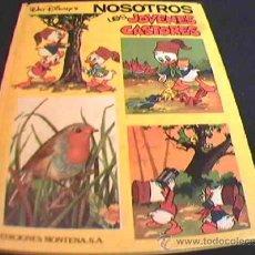 Tebeos: NOSOTROS LOS JOVENES CASTORES. Nº 4. WALT DISNEY. EDICIONES MONTENA, 1984. TAPA DURA. COLOR.. Lote 27262721
