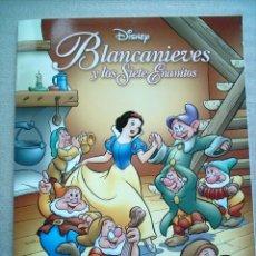Tebeos: BLANCANIEVES DISNEY Nº 1 BIBLIOTECA INFANTIL EL MUNDO 2007. Lote 46244274