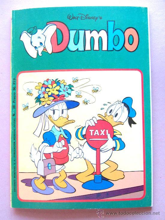COMIC DUMBO Nº 38 BUEN ESTADO EDITORIAL MONTENA WALT DISNEY'S, MICKEY MOUSE, DONALD, ETC ... (Tebeos y Comics - Montena)