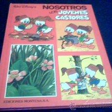 Tebeos: NOSOTROS LOS JOVENES CASTORES. WALT DISNEY. NUMERO 2. EDICIONES MONTENA. TAPA DURA. 1984.. Lote 11517017