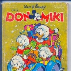 Tebeos: DON MIKI Nº 10. MONTENA. 30 PTS. AÑO 1976 / CON PUBLICIDAD DE LOS ARGAM BOYS. Lote 26503660