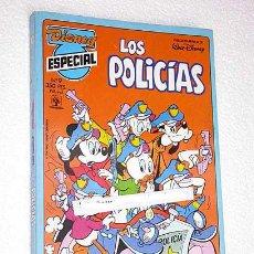 Tebeos: WALT DISNEY. DISNEY ESPECIAL Nº 9, LOS POLICIAS. EDITORIAL PRIMAVERA 1990. 196 PÁGINAS A COLOR.. Lote 26362424