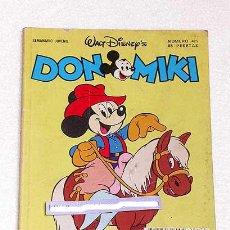 Tebeos: DON MIKI Nº 475. WALT DISNEY. EDITORIAL MONTENA. 1986. JAIME DIAZ STUDIO, GIULIO CHIERCHINI.. Lote 23499224
