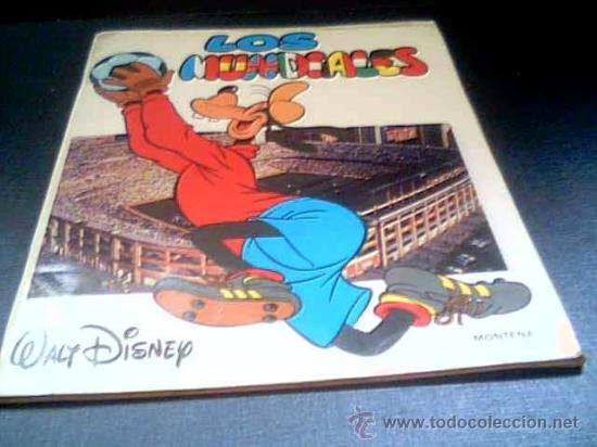 LOS MUNDIALES. WALT DISNEY. EDICIONES MONTENA, 1982. (Tebeos y Comics - Montena)