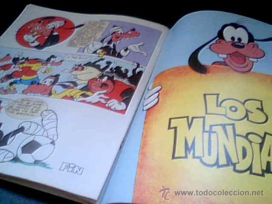Tebeos: LOS MUNDIALES. WALT DISNEY. EDICIONES MONTENA, 1982. - Foto 2 - 28106121