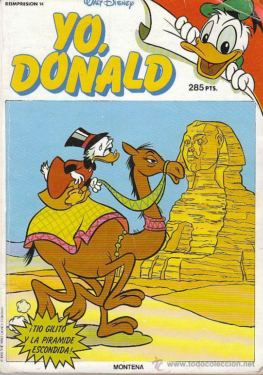 YO DONALD, 3 TEBEOS, REIMPRESIÓN Nº 14, (NUMEROS 40, 41 Y 42) RETAPADOS (Tebeos y Comics - Montena)