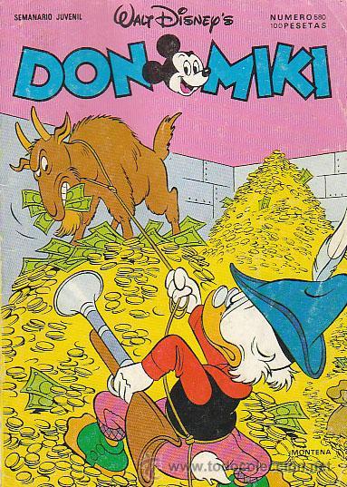 DON MIKI Nº 580 (Tebeos y Comics - Montena)