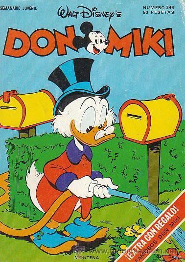 DON MIKI Nº 246 (Tebeos y Comics - Montena)