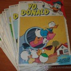 Tebeos: LOTE DE LOS 32 PRIMEROS COMICS DE YO DONALD. EDITORIAL MONTENA. . Lote 26516055