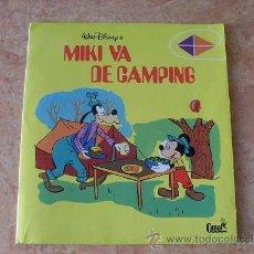Tebeos: MIKI VA DE CAMPING,COLECCION LA COMETA,EDITORIAL MONTENA-CANAL,AÑO 1981. Lote 25042241