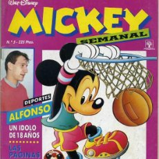 Tebeos: MICKEY SEMANAL Nº5 (1991) EDITORIAL PRIMAVERA. Lote 26239819
