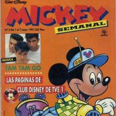 Tebeos: MICKEY SEMANAL Nº3 (1991) EDITORIAL PRIMAVERA. Lote 26239844