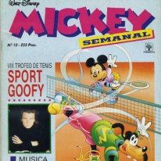 Tebeos: MICKEY SEMANAL Nº10 (1991) EDITORIAL PRIMAVERA. Lote 26239848