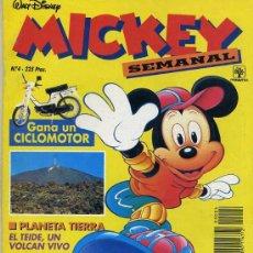 Tebeos: MICKEY SEMANAL Nº4 (1991) EDITORIAL PRIMAVERA. Lote 26239854