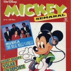 Tebeos: MICKEY SEMANAL Nº8 (1991) EDITORIAL PRIMAVERA. Lote 26239880