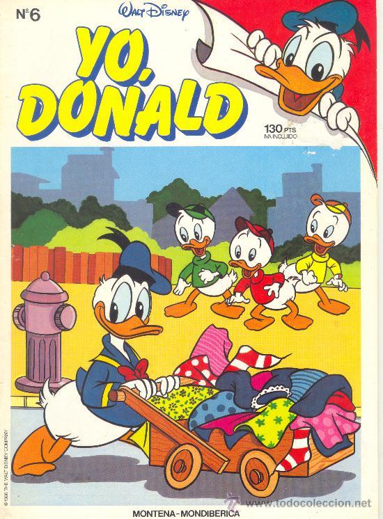YO DONALD Nº 6 (Tebeos y Comics - Montena)
