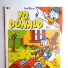 Tebeos: YO DONALD, Nº3, MONTENA-MONDIBERICA, WALT DISNEY 1986. Lote 28153967