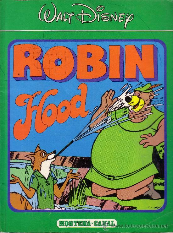 Robin Hood Walt Disney Montena Canal Buy Old Tebeos Montena At