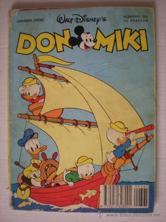 DON MIKI 365 (Tebeos y Comics - Montena)