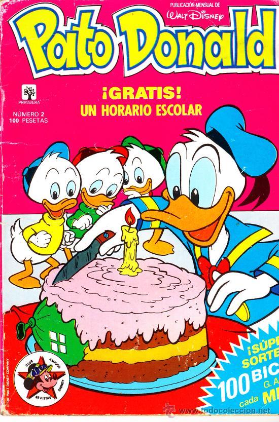 TOMO 2 PATO DONALD ED.PRIMAVERA 1989 EN CASTELLANO 66 PGS. (Tebeos y Comics - Montena)